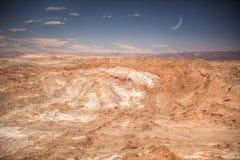 Valle de la Luna Moon Valley Stock Photo
