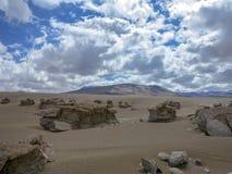Desert of Atacama, Chile Stock Image