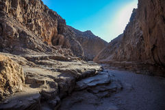 Valle de la Luna near San Pedro de Atacama, Chile.  Stock Photography