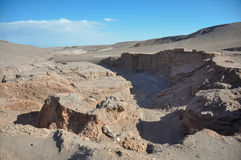 Valle de la Luna near San Pedro de Atacama, Chile Stock Photos