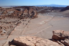 Valle-De-La Luna oder Mond-Tal San Pedro de Atacama chile Stockbilder