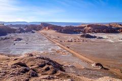 Valle de la Luna in San Pedro de Atacama, Chile Stock Images