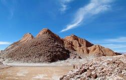 Valle de la Luna in San Pedro de Atacama stock photo