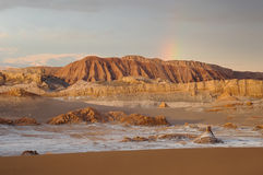 Valle DE La Luna Sand Dune Stock Foto