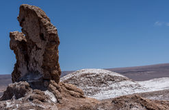 Valle de la Luna  Valley of the moon, Atacama desert, Chile Stock Photography