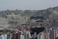 Valle de la Luna view from Mirador Killi Killi. La Paz. Bolivia Royalty Free Stock Photography
