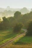 Valle de la mañana Imagenes de archivo