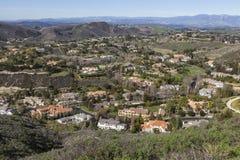 Valle de la mansión de California Fotografía de archivo libre de regalías