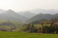 Valle de la montaña foto de archivo