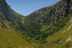 Valle de la montaña Fotografía de archivo libre de regalías