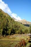 Valle de la montaña Imagen de archivo libre de regalías