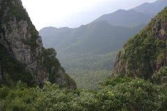 Valle de la montaña Imagen de archivo