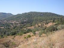 Valle de la montaña en las montañas del tauro imagen de archivo