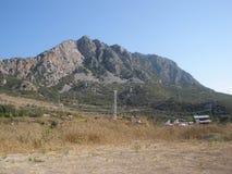 Valle de la montaña en las montañas del tauro fotos de archivo