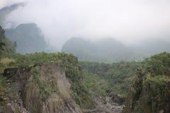 Valle de la montaña de Merapi fotografía de archivo libre de regalías