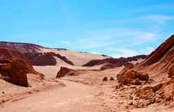 Valle de la Muerte Foto de Stock Royalty Free