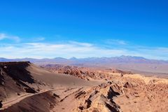 Valle de la Muerte Fotografia de Stock Royalty Free