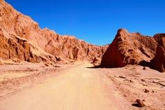 Valle de la Muerte Immagini Stock Libere da Diritti