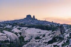 Valle de la paloma en Cappadocia, Turquía Foto de archivo libre de regalías