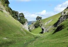 Valle de la piedra caliza Fotos de archivo