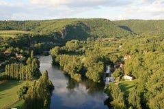 Valle de la porción - Francia Fotos de archivo libres de regalías