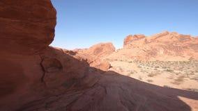Valle de la roca del arco del fuego metrajes