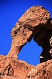 Valle de la roca del rojo del fuego Imagen de archivo libre de regalías