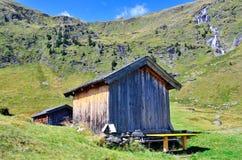 Valle de Ladurns Imagen de archivo libre de regalías
