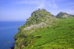 Valle de las rocas Fotos de archivo