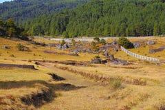 Valle de los encimadas de Piedras Foto de archivo