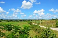 Valle de los ingenios; Guachinango, Cuba Immagini Stock