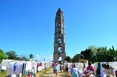 Valle de los ingenios; Iznaga, Cuba Imagen de archivo libre de regalías