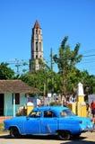 Valle de los ingenios; Iznaga, Cuba Stock Photography