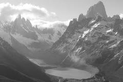 Valle de los picos Imagen de archivo