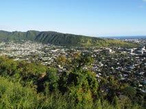 Valle de Manoa en la isla de Oahu imagen de archivo