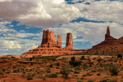 Vallée de monument, Utah, Etats-Unis Photo libre de droits