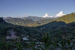 Valle de Muong Bu Fotos de archivo