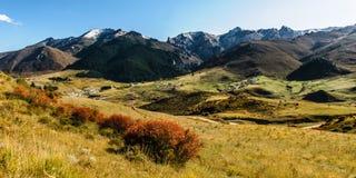 Valle de Namo en otoño Fotos de archivo libres de regalías