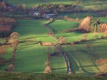 Valle de Newlands Imagen de archivo libre de regalías