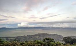 Valle de Ngorongoro Foto de archivo libre de regalías