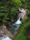 Valle de Nishizawa en Yamanashi, Japón Imágenes de archivo libres de regalías
