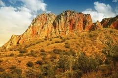 Valle de Noravank, Armenia Foto de archivo libre de regalías