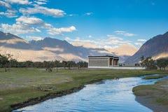 Valle de Nubra en Ladakh, la India imágenes de archivo libres de regalías