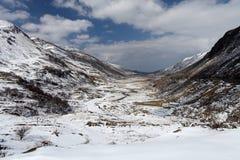 Valle de Ogwen Imagen de archivo libre de regalías
