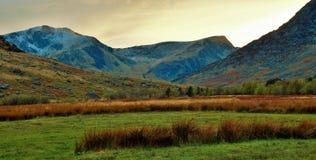 Valle de Ogwen Imagenes de archivo