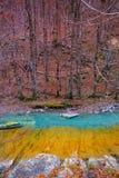 Valle de Ordesa ποταμών Arazas κοιλάδα Πυρηναία Huesca Ισπανία Στοκ εικόνες με δικαίωμα ελεύθερης χρήσης