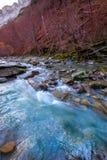 Valle de Ordesa ποταμών Arazas κοιλάδα Πυρηναία Huesca Ισπανία Στοκ Φωτογραφία