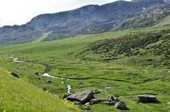 Valle de Ordino Royaltyfri Bild