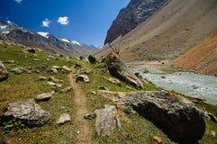 Valle de Pamir Imágenes de archivo libres de regalías