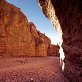 Valle de piedra Fotografía de archivo
